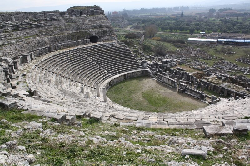The great theater at Miletus