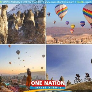 1 Day and 1 Night Cappadocia Tour from Istanbul